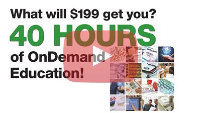 40 hours of CPE for $199