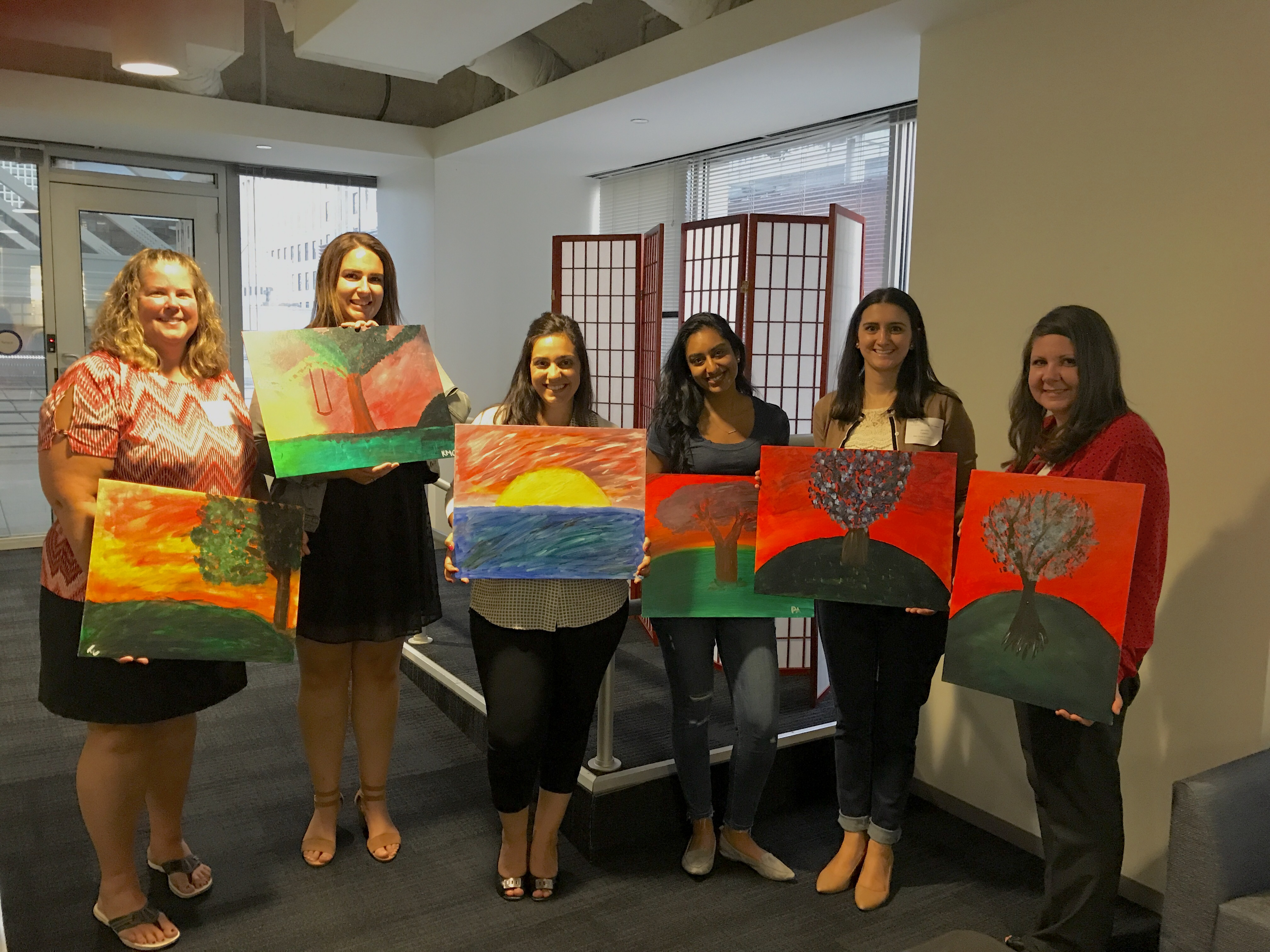 ICPA Society Event - Paint and Sip_8.10.17